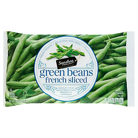 Signature SELECT Beans Green French Style - 16 Oz