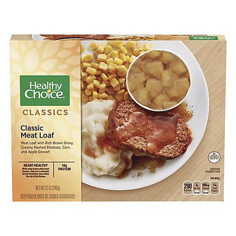Healthy Choice Complete Meals Meat Loaf Classic - 12 Oz