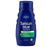 Selsun Blue Shampoo Dandruff Moisturizing with Aloe For Dry Scalp & Hair - 11 Fl. Oz.