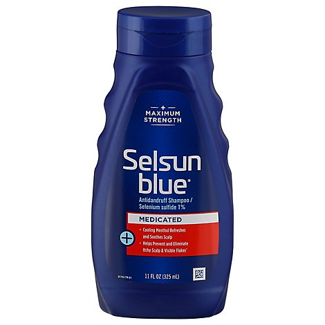 Selsun Blue Shampoo Dandruff Maximum Strength - 11 Fl. Oz.