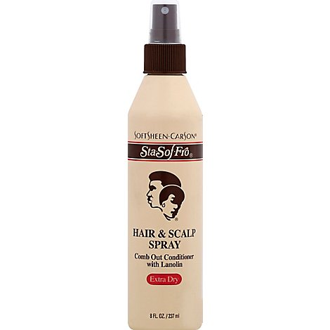 Johnsons Stay Soft Hair Care Fro Spray - 8 Fl. Oz.