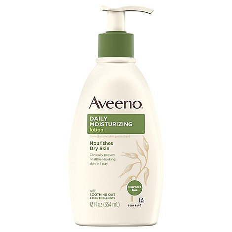 Aveeno Active Naturals Moisturizing Lotion Daily - 12 Fl. Oz.