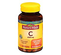 Nature Made Vitamin C 1000 Milligram Tablets - 100 Count