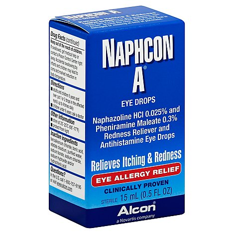 Alcon Naphcon A Eye Drops Ey - Online Groceries | Pavilions