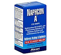Alcon Naphcon A Eye Drops Eye Allergy Relief - 0.5 Fl. Oz.