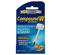 Compound With Wart Remover Liquid - .31 Fl. Oz.