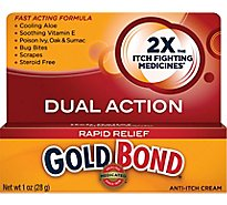 GOLD BOND Medicated Anti Itch Cream - 1 Oz