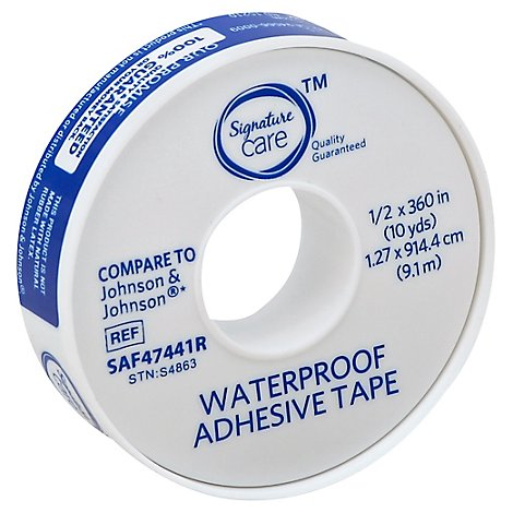 Signature Care Adhesive Tape Waterproof 10 Yards - Each