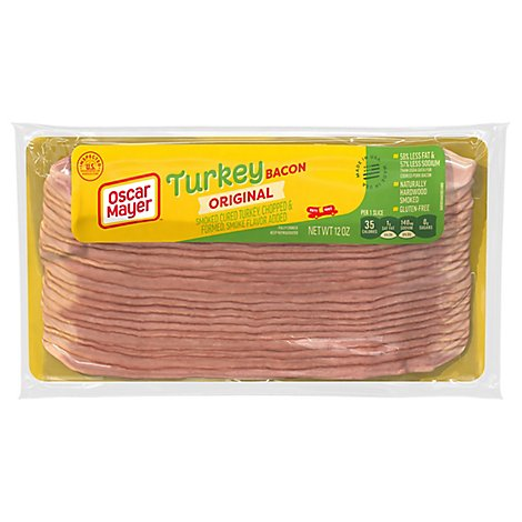 Oscar Mayer Turkey Bacon - 12 Oz.