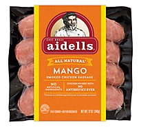 Aidells Sausage Chicken Mango - 12 Oz