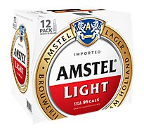 Amstel Light Beer Lager Light - 12-12 Fl. Oz.