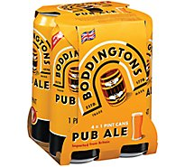 Boddingtons English Ale Cans - 4-16 Fl. Oz.