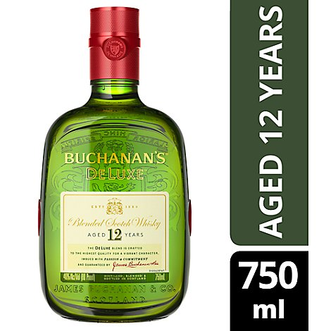 Buchanans Scotch Whiskey - 750 Ml