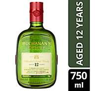 Buchanans Scotch Whiskey 80 Proof - 750 Ml