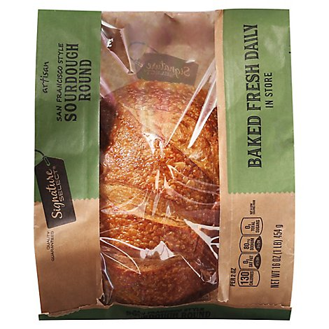 Bakery Signature SELECT Bread Sourdough San Francisco Style Round - Each