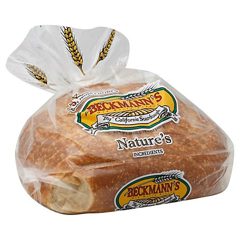 Beckmanns Big Sour Round Bread - 24 Oz