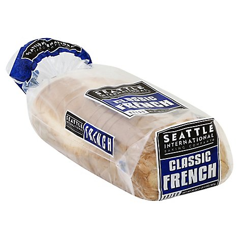 Seattle International Baking Company Sandwhich Bread Classic French - 20 Oz