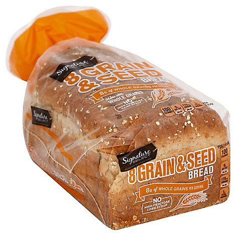 Signature SELECT Bread 8 Grain & Seed - 24 Oz