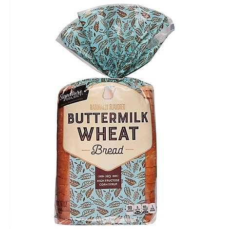 Signature SELECT Bread Enriched Buttermilk Wheat - 24 Oz