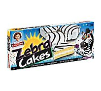 Little Debbie Cakes Zebra - 10 Count