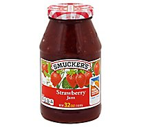Smuckers Jam Strawberry - 32 Oz