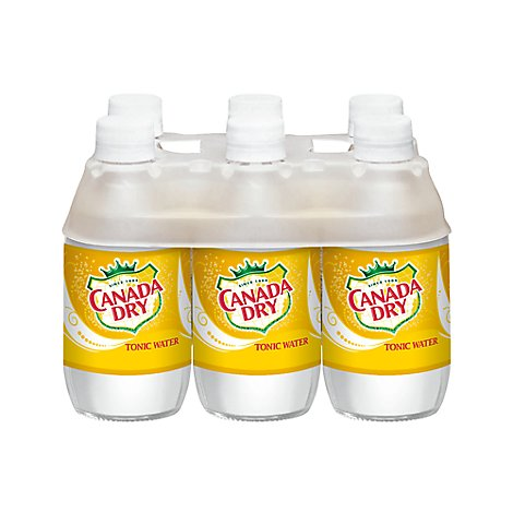 Canada Dry Tonic Water - 6-10 Fl. Oz.