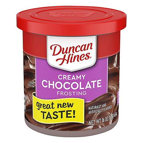 Duncan Hines Creamy Frosting Home-Style Classic Chocolate - 16 Oz