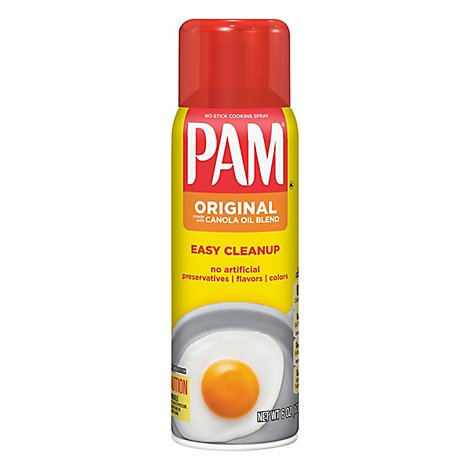 PAM Cooking Spray Canola Oil Superior No Stick Original - 6 Oz