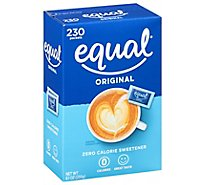 Equal Sweetener 0 Calorie Original 230 Count - 8.1 Oz