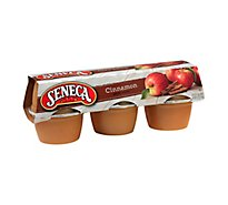 Seneca Apple Sauce Cinnamon Cups - 6-4 Oz