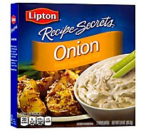 Lipton Recipe Secrets Recipe Soup & Dip Mix Onion 2 Count - 2 Oz