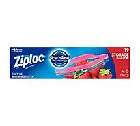 Ziploc Storage Bags Gallon 19 ct