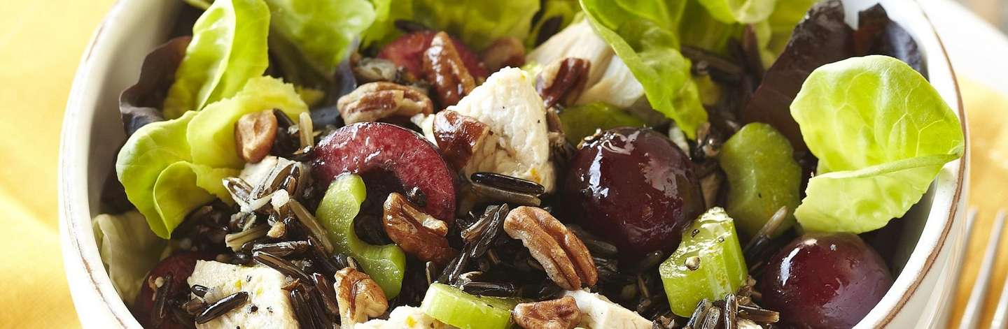 Cherry, Turkey & Wild Rice Salad