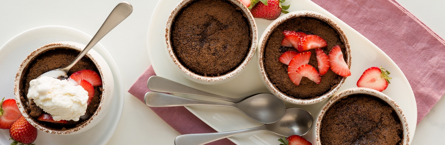 Gooey Chocolate Pudding Cakes