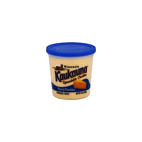 KAUKAUNA SHARP CHEDDAR SPREADABLE CHEESE