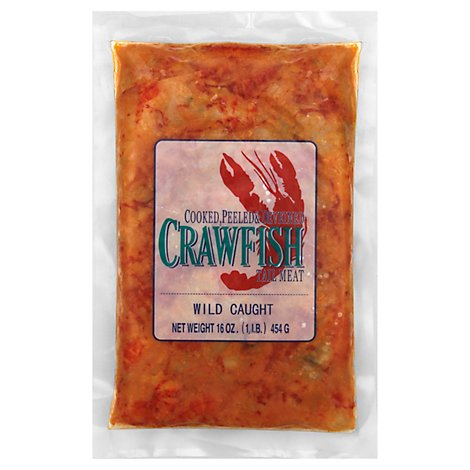 Crawfish Tail Meat Frozen - 16 Oz