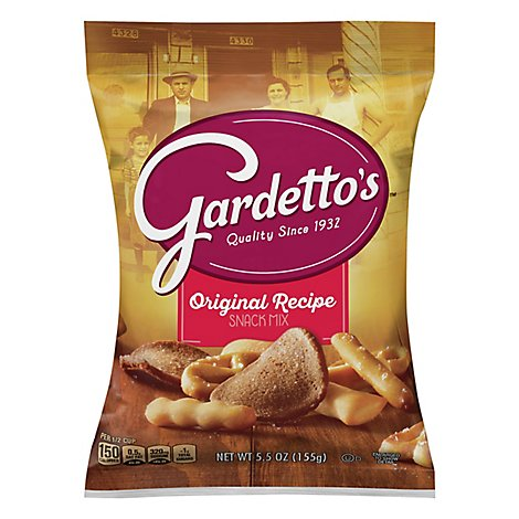 Gardettos Snack Mix Original Recipe - 5.5 Oz