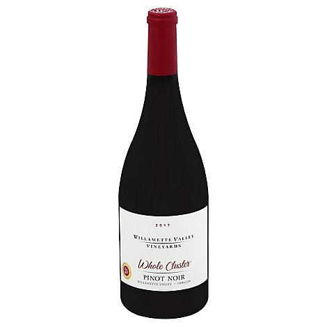 Willamette Valley Vineyards Wine Whole Cluster Pinot Noir - 750 Ml
