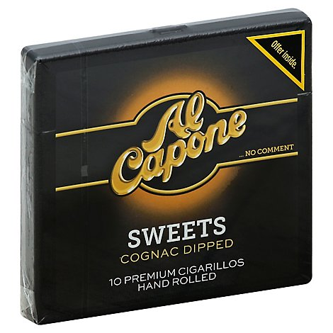 Al Capone Sweets Cigars - 10 Count