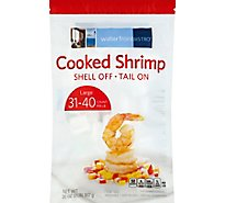 waterfrontBISTRO Shrimp Cooked 31-40 Count Large Tail On Frozen - 2 Lb