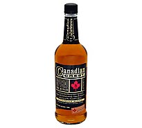 Canadian Crest Whisky Blended Canadian 80 Proof Traveler - 750 Ml