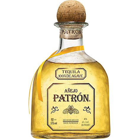 Patron Tequila Anejo 80 Proof - 375 Ml