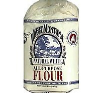 Wheat Montana Premium Natural White Flour - 5 Lb