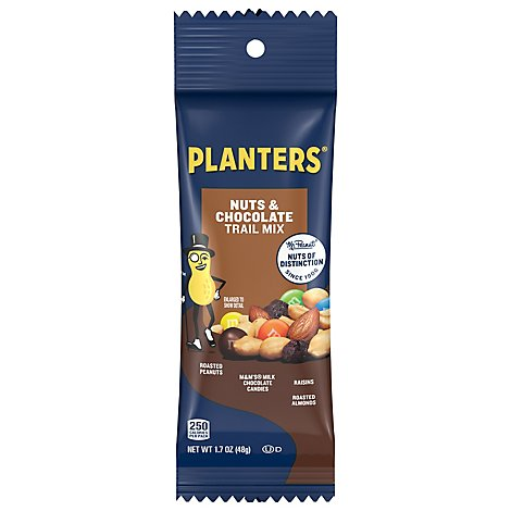 Planters Trail Mix Nuts & Chocolate - 1.7 Oz