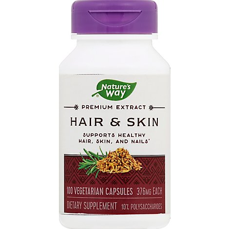 Natures Way H F Hair&Skin - 60 Count