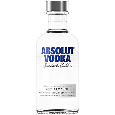 Absolut Vodka 80 Proof - 200 Ml