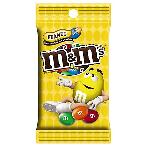 M&Ms Chocolate Candies Milk Chocolate Peanut - 5.3 Oz