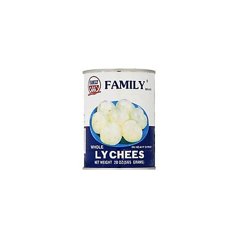 Family Specialty Food Lychee Whole - 20 Oz