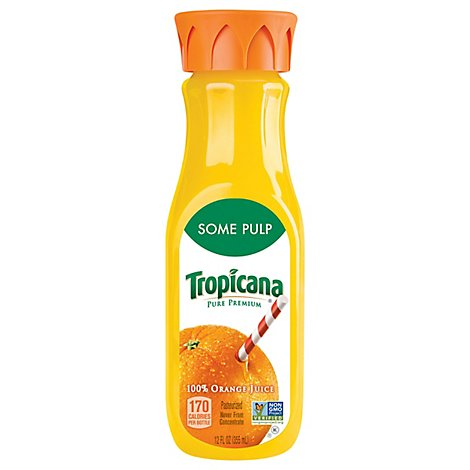 Tropicana Pure Premium Orange Juice Homestyle Chilled - 12 Fl. Oz.