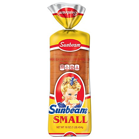 Sunbeam Bread White - 16 Oz